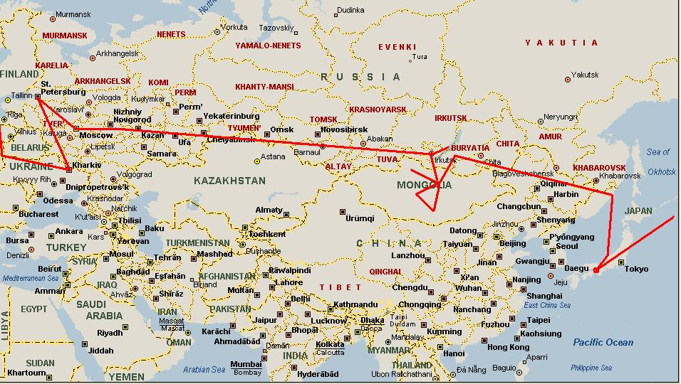Site Map Russian 70